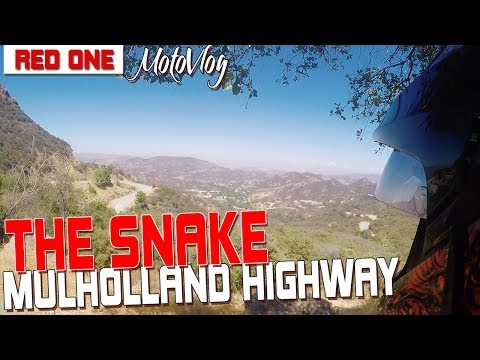 "Riding ""The Snake"" on Mulholland"