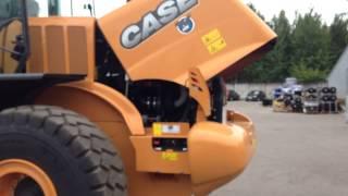 Обслуживание погрузчика Case 821F