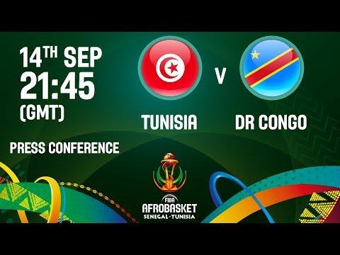 Tunisia v DR Congo - Press Conference