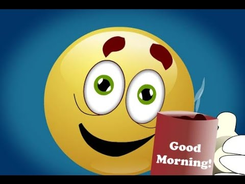 Good Morning with happy Face | Good morning smiley face