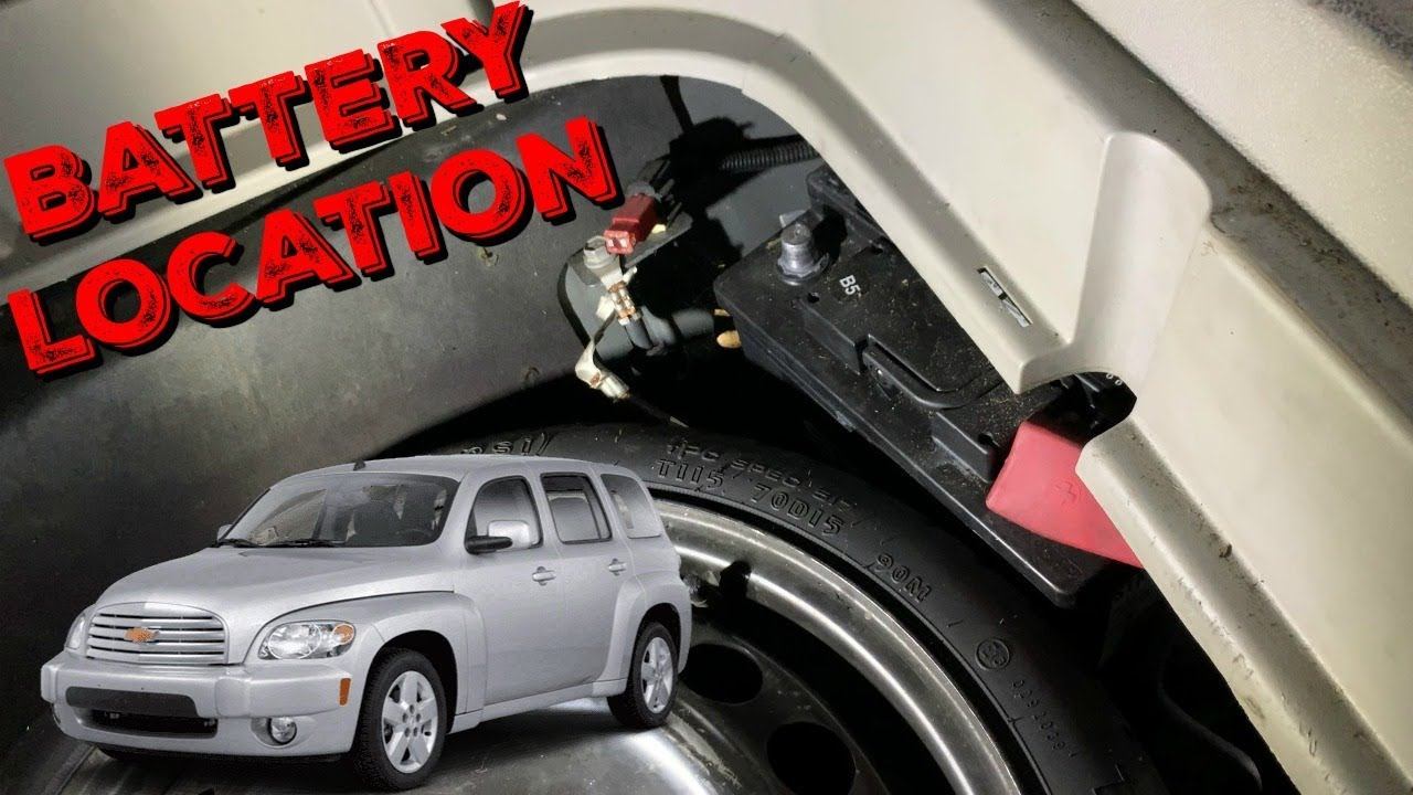 Chevy Hhr Battery Location And Removal Youtube