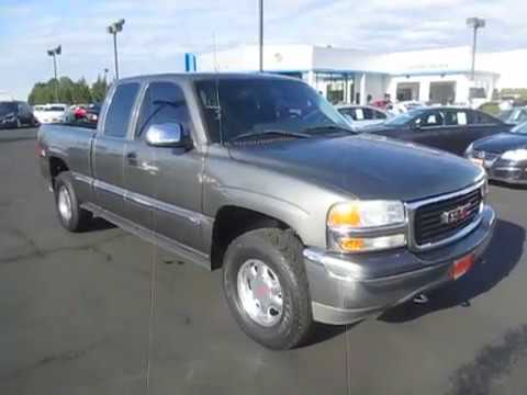 Sold 2001 Gmc Sierra 1500 Extended Cab Standard Bed Sle 4wd Seattle Tacoma Wa V4134a