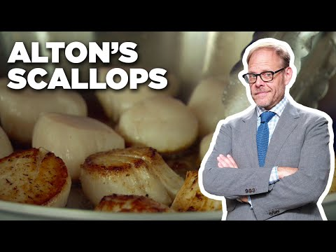 How to Perfectly Sear Scallops with Alton Brown | Food Network