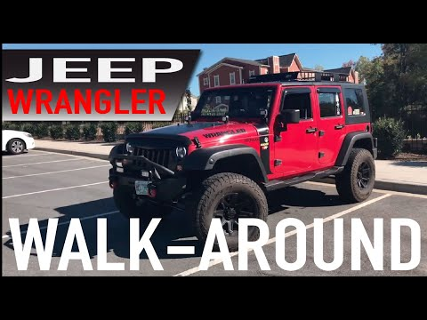 Jeep Wrangler Walk-around CHEAP MODS! Ideas!