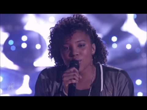 Jayna Brown: NAILS Katy Perry's Rise, Rise, Rise  Semifinals FULL  Americas Got Talent 2016