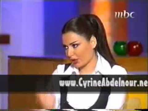 Cyrine Abdel Nour - On MBC Kalam Nawaem Part 1