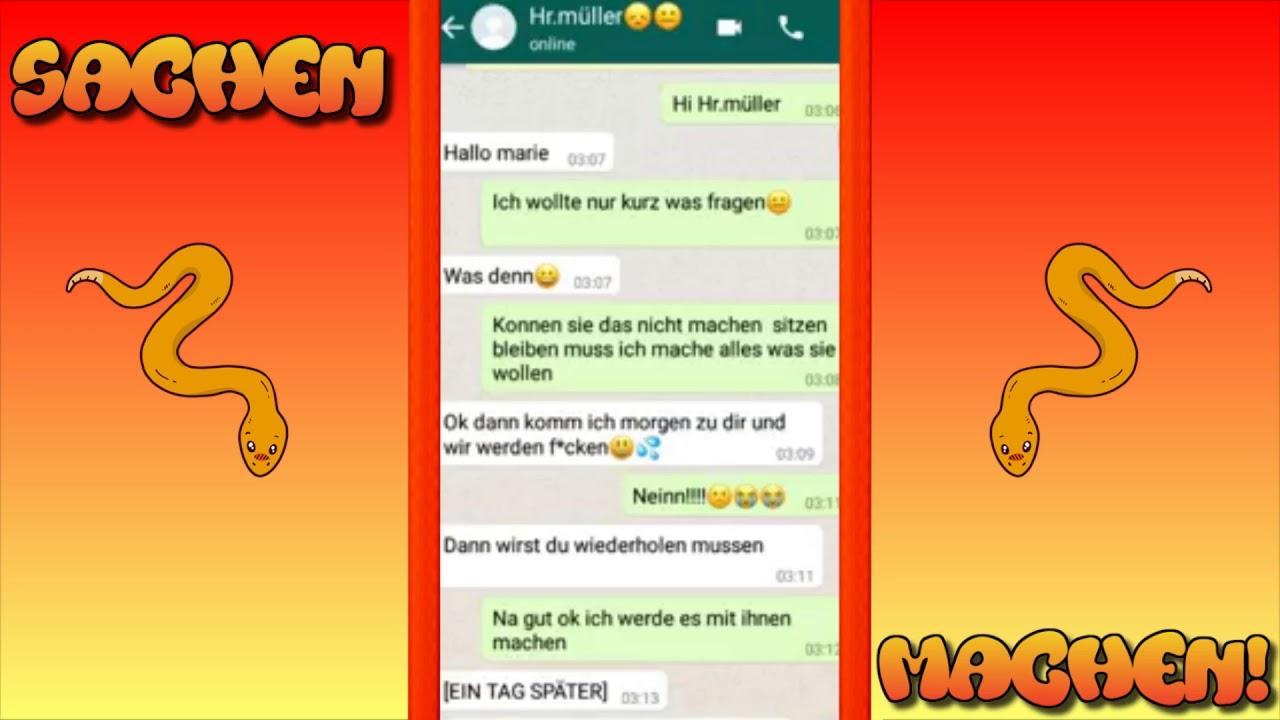 Perverser Whatsapp Chat Mit Lehrer 30
