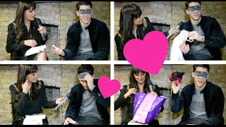 Nick Jonas Blindfold Challenge!  LOL!