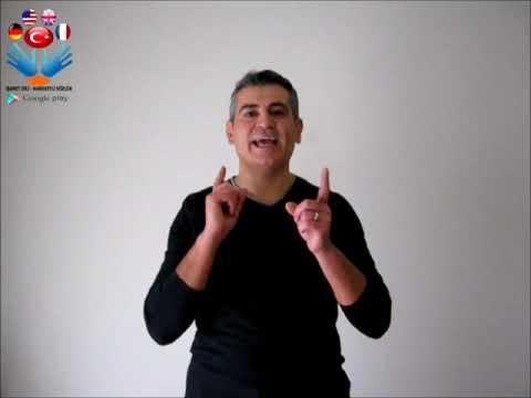 Adliye - işaret dili