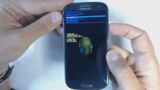 Samsung Galaxy S3 I9300 hard reset(If you forgot your screen lock combination follow these steps. 1.Power off your phone 2.Press together volume up + home button + power button 3.Release your ..., 2013-06-28T09:07:17.000Z)