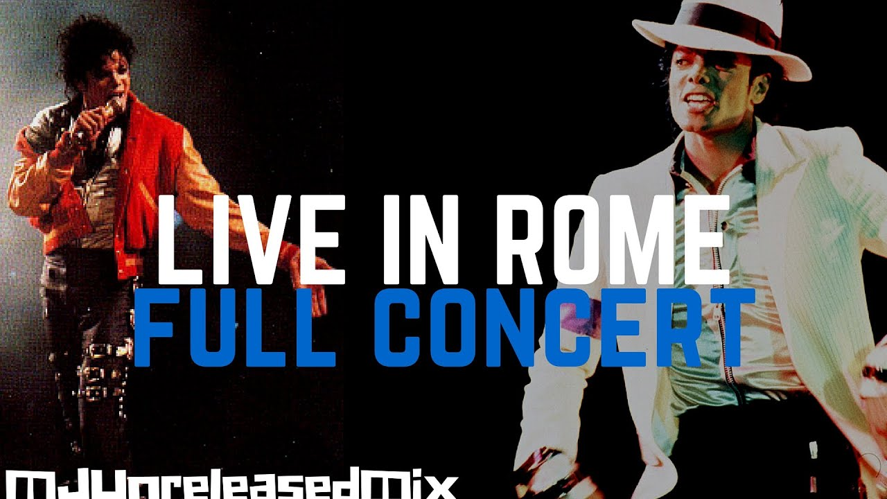Michael Jackson - Live In Rome | 23rd May 1988 - Bad Tour ...