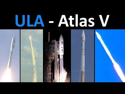 Atlas V Rocket Launch Compilation (Milestones 2002 - 2018)