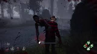 Dead by daylight  playing with hooks