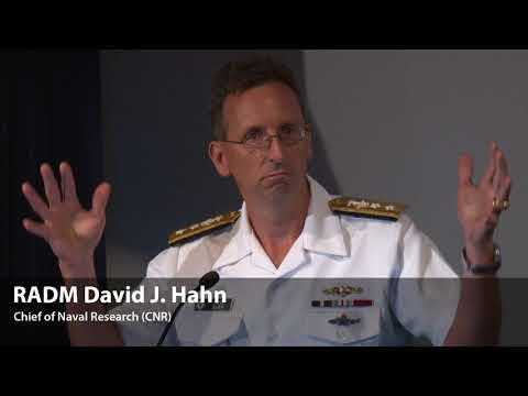 RADM David J. Hahn, Chief of Naval Research