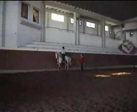 Sam Jamieson riding in Portugal