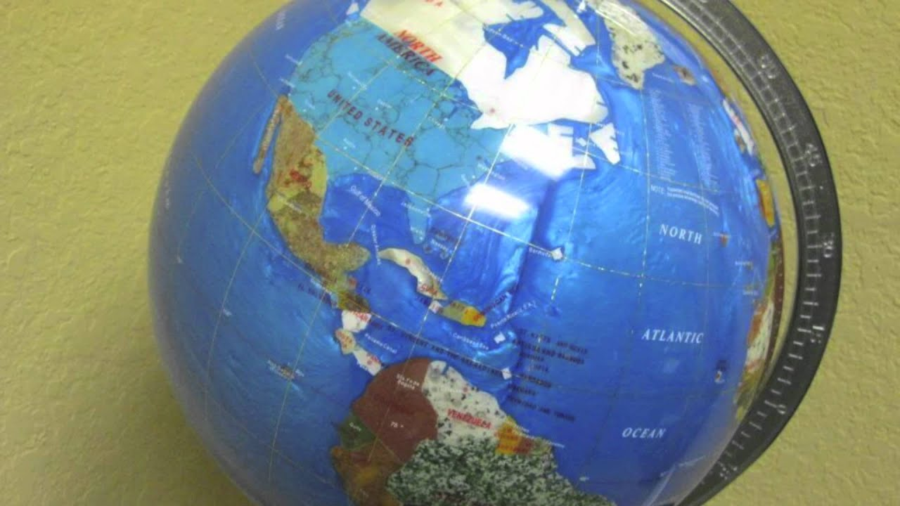 Rotating World Globes For Sale From Antique Gemstone