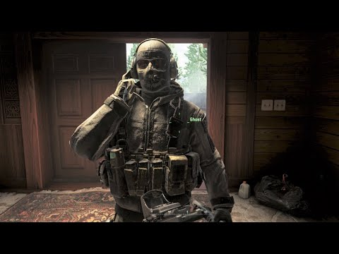 Call Of Duty: Modern Warfare 2 Remastered Walkthrough - Mission 15 - Loose Ends - PS4 HD