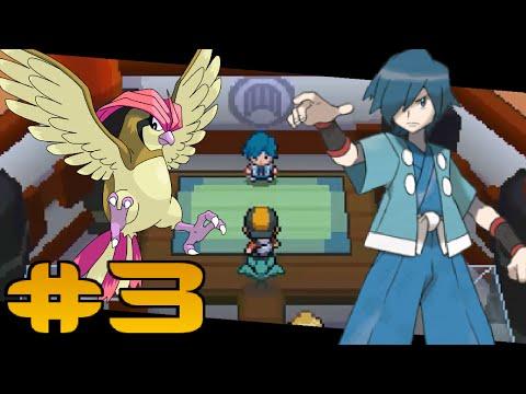 Pokemon: HeartGold - Tam Çözüm#3 : Violet Salon Lideri Falkner