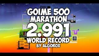 Goime 500 Marathon Speedrun | 2.991 (WR)