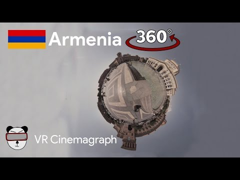 360° Cinemagraphs: Republic Square | Yerevan, Armenia