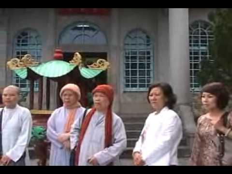 Phái Đoàn DĐ.Thích Giác Nhàn thăm các chùa ở Đài Loan và Tịnh Tông Học Hội 1/6