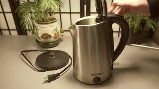 Aroma 1.7L Water kettle Review - 8 Months of Use - AWK-129SM