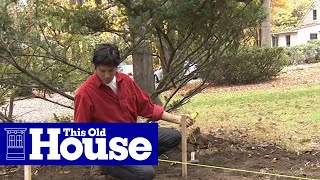 How to Build a Stone Planter - This Old House