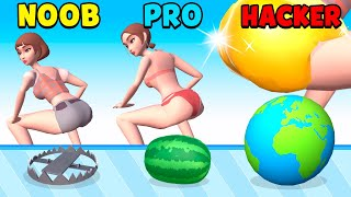 NOOB vs PRO vs HACKER - Twerk Blast