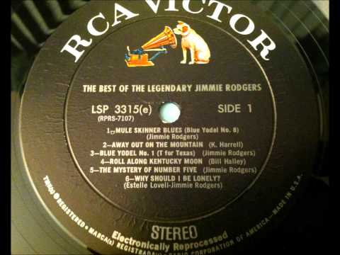 Blue Yodel # 1 T For Texas , Jimmie Rodgers , 1928 Vinyl