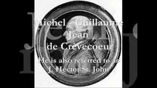The portrayal of americans in michel guillaume jean de crevecoeurs what is an american