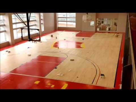 Building The Basketball Court At