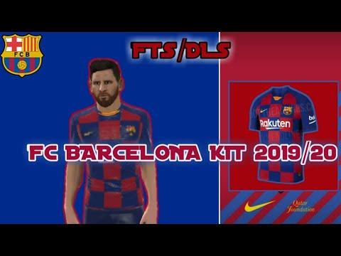 FTS/DLS19 BARCELONA KIT 2019/20 - YouTube