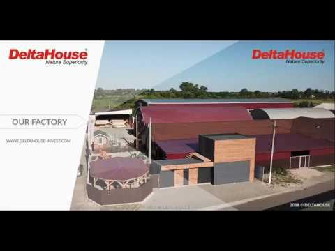 Prefabricated houses production – Deltahouse