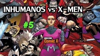 INHUMANOS vs X-MEN #05 - Un giro inesperado! - Comic en español - Narrado