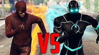 BLUE FLASH OF TIME vs FLASH   GTA 5 Epic Battle w/ Mods