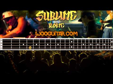 Sublime - Santeria Bass Cover Tutorial With Tabs