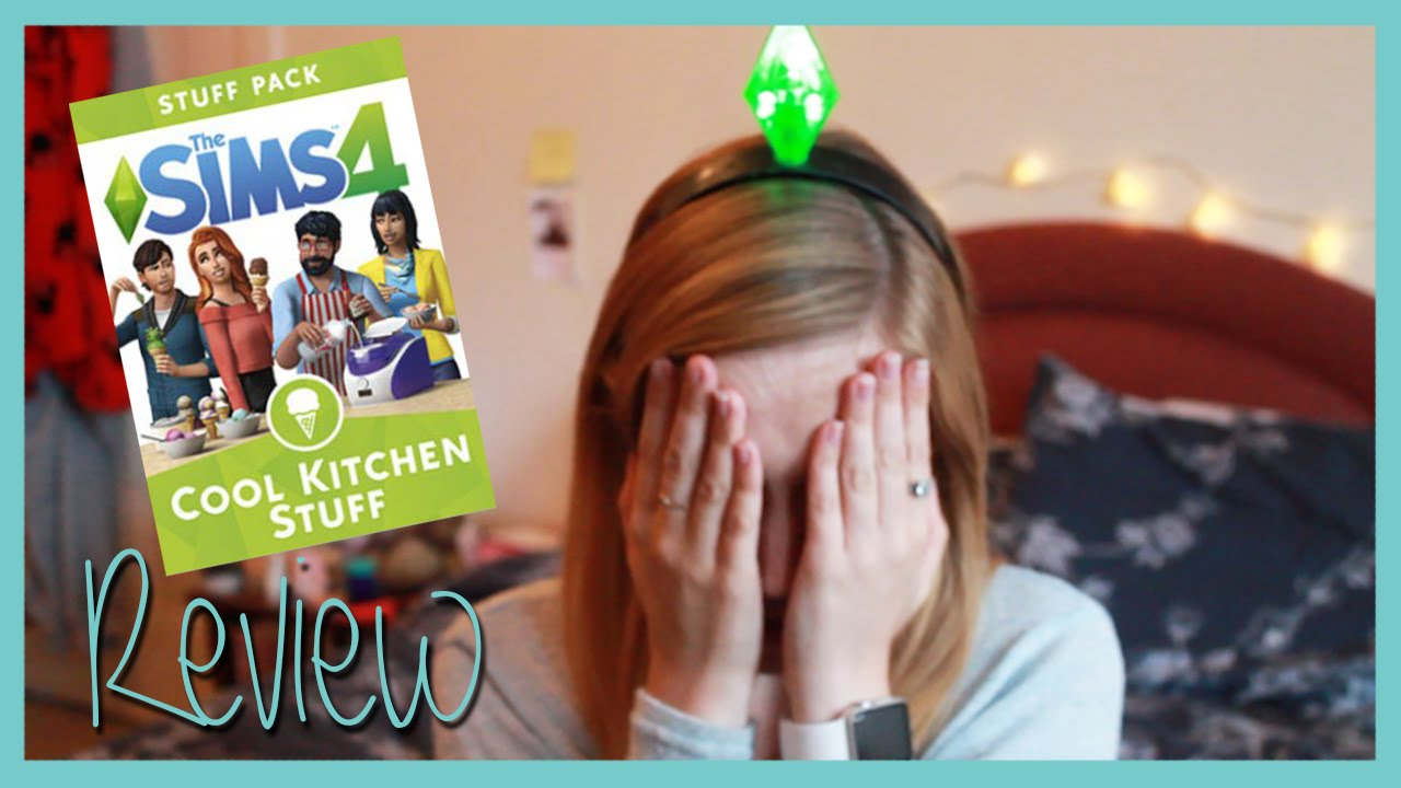 The Sims 4 Cool Kitchen Stuff Review Rachybop Youtube