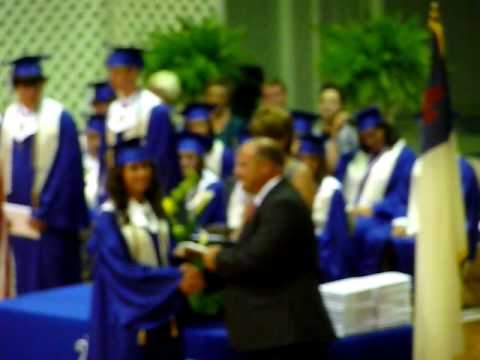 Shelby gets her diploma from Brookhaven Academy, MS