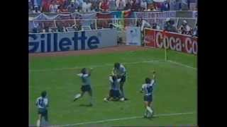 Argentina VS West Germany FIFA World Cup Mexico 1986.