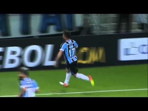 Grêmio 1 x 0 Toluca 19/04/2016 Libertadores 2016 gols