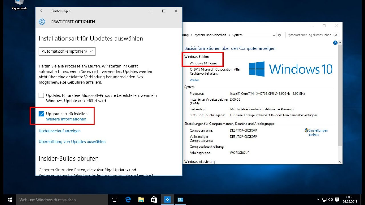 Turn off windows automatic update on windows 10 how to for Windows 10 update