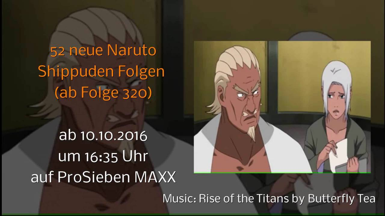 Naruto Shippuuden Tube Folgen