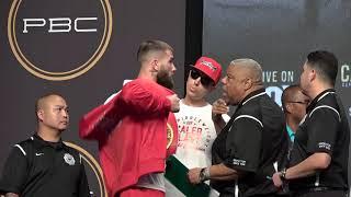 caleb plant walks off EsNews Boxing