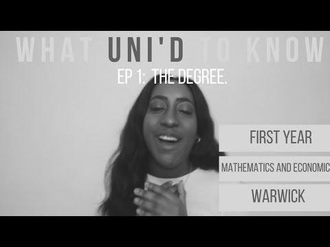 STUDYING FIRST YEAR MATHEMATICS || WARWICK || UNI'd to KNOW: DEGREE