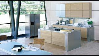 видео дизайн кухни совмещенной с гостиной