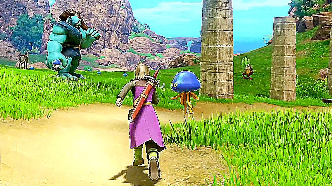 Dragon Quest X Xi 14 Minutes Of New Gameplay Nintendo
