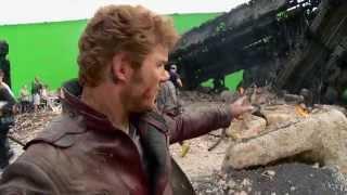 Chris Pratt at the Xandar Crash Site - Marvel's Guardians of the Galaxy Blu-ray Featurette Clip 3