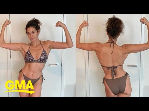 Teri Hatcher delivers no-filter body positive message | GMA