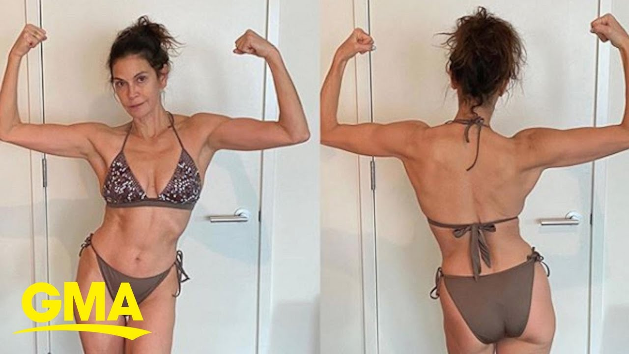 Teri Hatcher delivers no-filter body positive message | GMA - YouTube