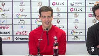 """Iñigo Pérez: """"Tenemos que centrarnos en nosotros y en intentar mejorar fuera de casa"""""""